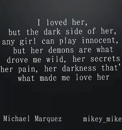 I loved her, 