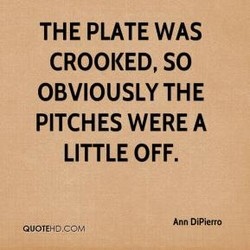 THE PLATE WAS 