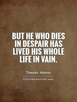 BUT HE WHO DIES 