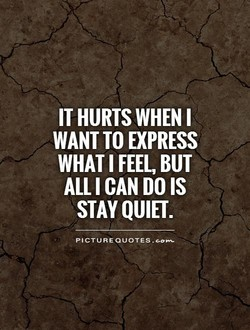 IT HURTS WHEN I 