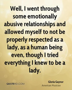 Well, I went through 