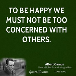 TO BE HAPPY WE 