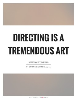 DIRECTING IS A 