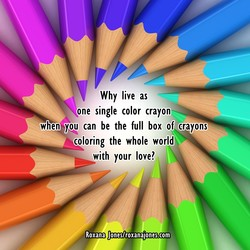 Why live as 