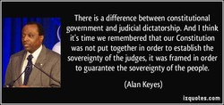 There is a difference between constitutional 