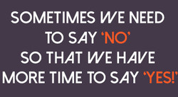 SOMETIMES WE NEED 