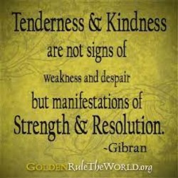 Tenderness & Kindness 