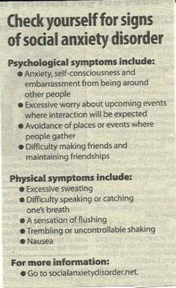 Check yourself for signs 