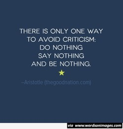 THERE IS ONLY ONE WAY 
