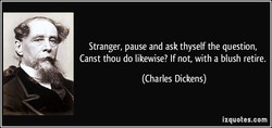 Stranger, pause and ask thyself the question, 