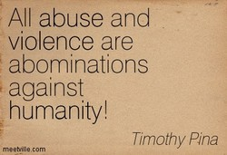 All abuse and 