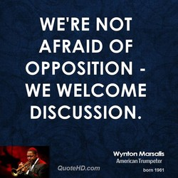 WE'RE NOT