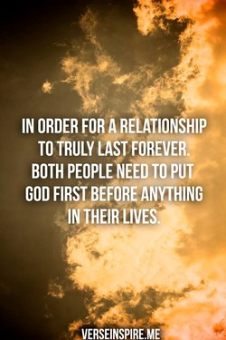 IN ORDER FOR A 