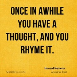 ONCE IN AWHILE 