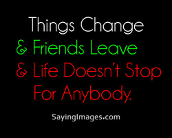 Things Change