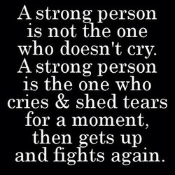 A strong person 