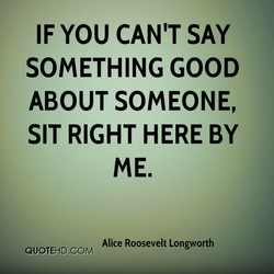 IF YOU CAN'T SAY 