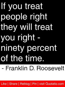 If you treat 