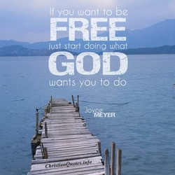 If you want to be