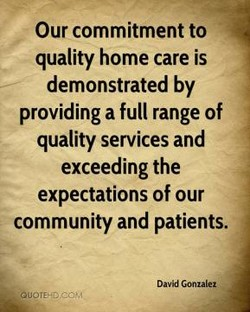Our commitment to 