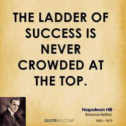 THE LADDER OF 