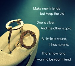 Make new friends 