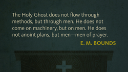 The Holy Ghost does not flow through 