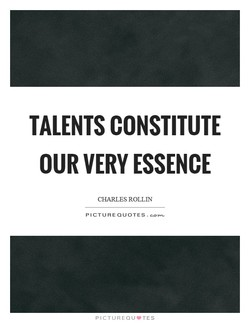 TALENTS CONSTITUTE 