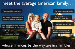 meet the average american family... 