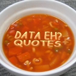 DATA EH? 