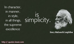 In character, 