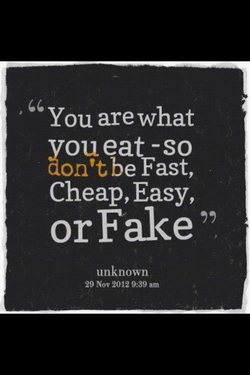 You are what 