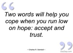 Two words will help you 