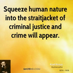Squeeze human nature 