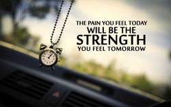 THE PAIN YOU FEEL TODAY 