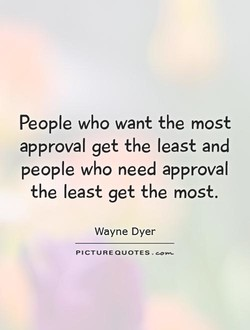 People who want the most 