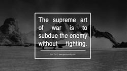 The supreme art 