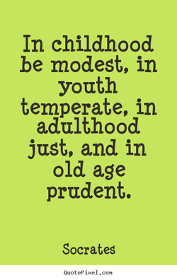 In childhood 