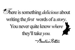 'here is something delicious about 