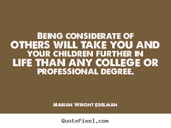 BENG CONSIDERATE OF