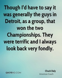 Though I'd have to say it