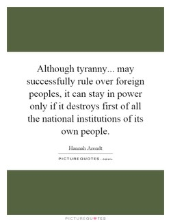 Although tyranny... may 