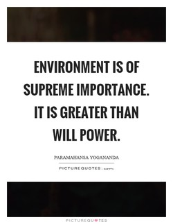 ENVIRONMENT IS OF 