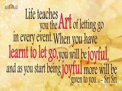 Life teaches 