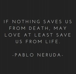 IF NOTHING SAVES U s 