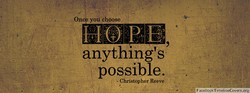 you 'choose 