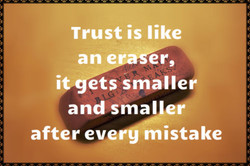 Trust is like 