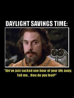 DAYLIGHT SAVINGS TIME: