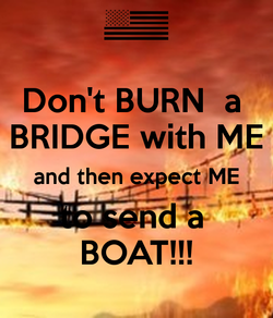 Don't BURN a 