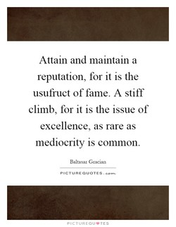 Attam and maintain a 